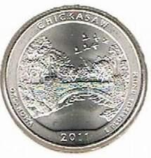 Amerika quarter 2011 D Unc - Chickasaw