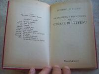 1960 HONORE' DE BALZAC: 'GRANDEZZA E DECADENZA DI CESARE BIROTTEAU' EDIZIONE BUR