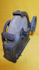 "Nice Vintage 10"" Wet Grinding Stone Craftsman Grinder Sharpening Wheel Tool"