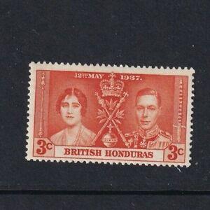British Honduras - 1937 - SG 147 - 3c - Coronation (Orange) - MLH 2015