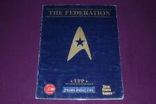PRIME DIRECTIVE (STAR TREK) RPG JDR Jeu de Role - UFP : Federation Sourcebook