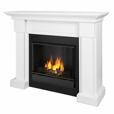 Real Flame 7910-W - Hillcrest Ventless Gel Fuel Fireplace in White NEW