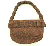 New listing Vintage 1930s Art Deco Beaded Bag Handbag | Bead Rope Handle