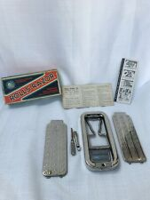 Vintage Rolls Razor Blade- Packaging, Instructions, Case, Razor, and Tools