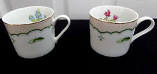 Georges Briard Private Collection Victorian Garden Set of 2 Cups