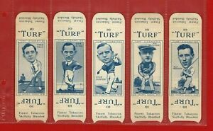 TURF SPORTS SERIES PACKAGE ISSUE - GOLFERS - CARRERAS CIGARETTE CARDS (SK20)