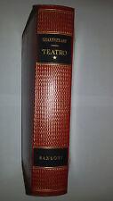 SHAKESPEARE TEATRO volume 1°  Sansoni editore 1956