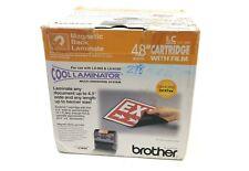 "Brother LC-M5 Cool Laminator 4.8"" Film Cartridge Magnetic Back Laminate"