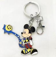 Kingdom Hearts mickey mouse metal pendant key chain key chains figure anime new