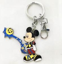Kingdom Hearts mickey mouse metal pendant key chain key ring figure cute new