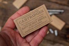 Civil war revolver cartridge box in .36 caliber (2pc)