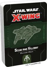Star Wars X-Wing 2nd Ed Scum & Villainy Damage Deck by Fantasy Flight SWZ74