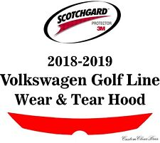 3M Scotchgard Paint Protection Film Clear Pre-Cut 2018 2019 Volkswagen Golf Line