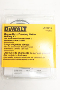 DeWalt D518015 Heavy Duty Framing Nailer O-Ring Kit