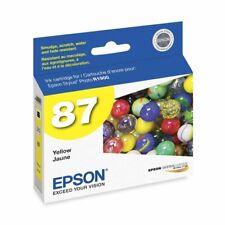 Genuine Epson 87 T0874 Yellow Ink Cartridge for Stylus Photo R1900