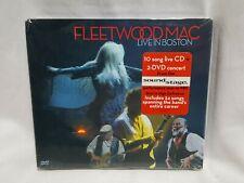 NEW Fleetwood Mac Live in Boston CD + 2 DVDs Concert Set SEALED  1 CD 2 DVDs