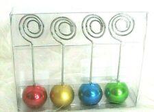 Marcel Schurman Multicolor Ornament Style Memo Clips Set Of 4 Nwot