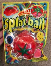 Splat Ball Tomato ~ Toss It! Watch It Splat!