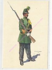 CP MILITARIA J DEMART Costumes Militaires chasseurs a pied caporal 1855
