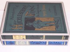 Easton Press FIRST EDITION LIBRARY Adventures Huckleberry Finn Tom Sawyer 2 vols