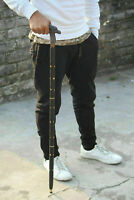 "Unique Knob Head Solid Brass Walking Stick cane Victorian Wooden Cane 36"""