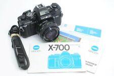 Minolta X-700 35mm SLR w/ Gemini 28mm f/2.8 Lens (NJL018846)