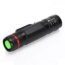 CREE XM-L T6 LED Flashlight Torch Lamp Adjustable Focus Zoom Bike Light 7 Modes
