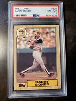 MISPRINTS 1987 Topps #320 Barry Bonds THIS HAS ALL THE MISPRINT FLAWS ON 1 CARD