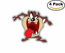 Taz Tasmanian Devil Bugs Bunny Cartoon Decal Diecut Sticker 4 Stickers