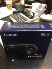 NEW Canon PowerShot SX720 HS RED 20.3-Megapixel Digital Camera - 013803269376