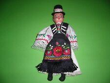 308KC1 Puppe aus Ungarn ungarische Trachtenpuppe, vintage hungarian doll hungary