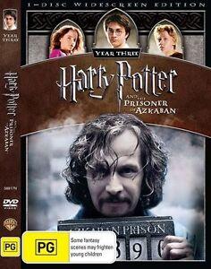 Harry Potter And The Prisoner Of Azkaban (DVD, 2009) Region 4 - Gary Oldman