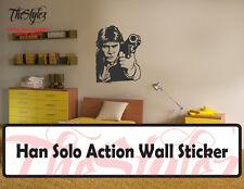Han Solo Oversize Wall Vinyl Action Sticker