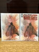 Shadows of Vader's Castle #1 David Mack Virgin Variant Set In Hand Ships Now