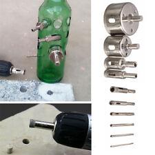 10x 3-50mm Diamond Hole Saw Drill Bit Set Glass Ceramic Tile Marble Cutting Tool