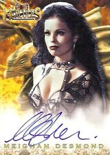 Hercules The Complete Journeys Autograph Card A15 Meighan Desmond as Discord