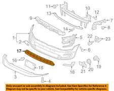 VW VOLKSWAGEN OEM 16-18 e-Golf-Grille Grill-Center 5GE853671AFOD