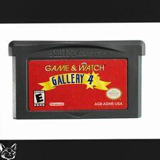 Game & Watch Gallery 4 [Nintendo Super Mario Bros. Minigames GBA Exclusive Game