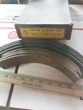 1940 To 1941 Hudson 1939-41Pontiac Oldsmobile Brake Lining Set Wire Back B677