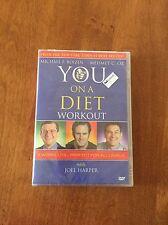 Dr. OZ - YOU On A Diet Workout DVD - Mehmet Oz & Joel Harper - Brand New Sealed