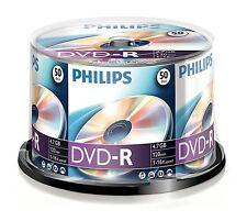 PHILIPS DVD-R 120 MINUTEN VIDEO 4.7GB DATEN 16X GESCHWINDIGKEIT ROHLINGE DISC