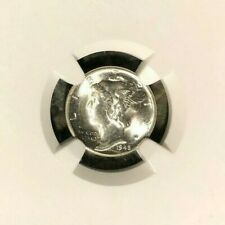 New listing 1945-D Mercury Silver Dime - Ngc Ms 65Fb ~Full Bands~ Blast White