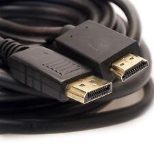 Aya Displayport Stecker Auf HDMI 28AWG Mit Audio Kabel Voll HD1080p 0.9m -4.6m