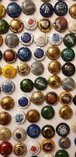Lot de 130 capsules de Champagne vin bulles cépage muselet Reims Epernay Mailly
