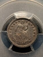 1856-O New Orleans Mint Silver Seated Half Dime Ch XF