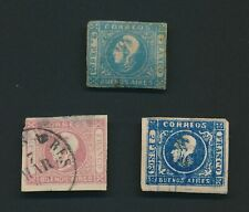ARGENTINA BUENOS AIRES STAMPS 1859-1862 LIBERTY HEADS INC 2p MILKY BLUE