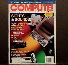 Compute! Magazine back issue December 1988 Computers Macintosh Apple Amiga Atari