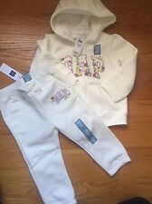 Baby Gap Girl 18-24m Zip Up Hoodie & Joggers NWT
