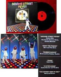 LP Sesame Street Fever (Polydor 2344 119) D 1978 feat. Robin Gibb