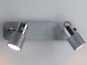 applique moderno faretti specchio bagno cromo salone cucina camera da letto spot